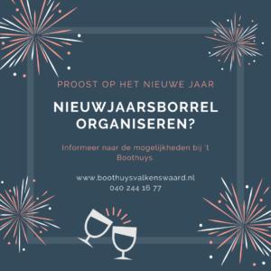 nieuwjaarsborrel organiseren