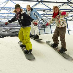 groepsuitje ski